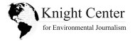 Knight Center for Environmental Journalism logo.