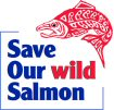 Save Our Wild Salmon logo.