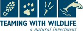 Teaming with Wildlife logo.