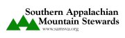 Southern Appalachian Mountain Stewards logo.