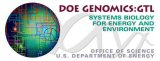 U.S. Department of Energy Genomics:GTL Program logo.